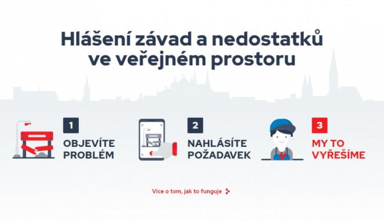 Olomouc zřídila nový web, kam mohou lidé nahlásit závady a místa k opravám