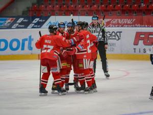 Hokejisté Olomouce ve třetí části otočili zápas proti Vítkovicím