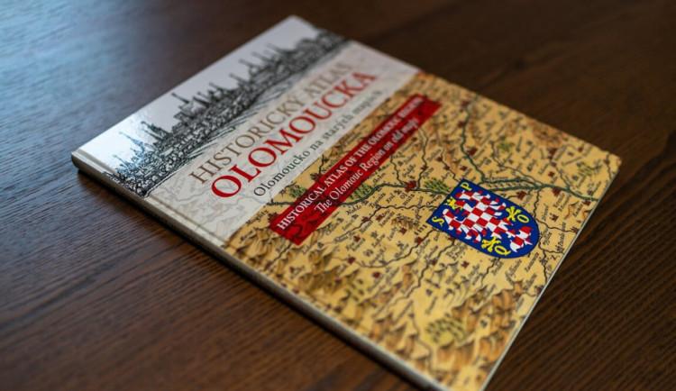 Město vydává novou publikaci Historický atlas Olomoucka