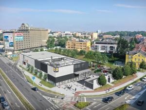 Nová prodejna Lidl v Olomouci na Velkomoravské otevře ještě před Vánoci