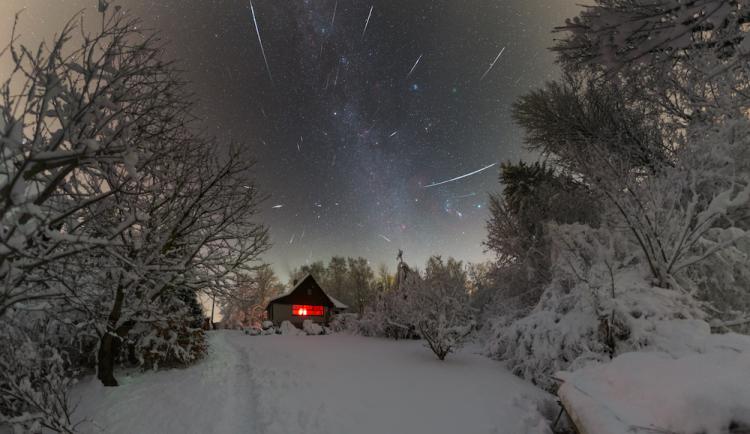 V prosinci jsou skvělé podmínky pro pozorování Geminid. Noci slibují až tisíc meteorů