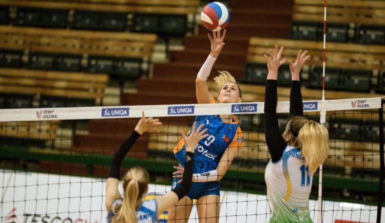 Olomoucké volejbalistky vyhrály nad Královým Polem 3:0. Brňanky však proti výsledku protestují