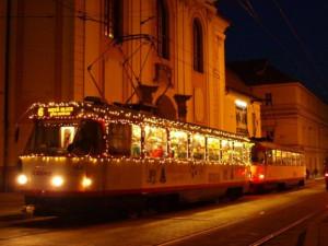 Olomoucký dopravní podnik speciálním hlášením děkuje cestujícím a přeje jim klidné svátky