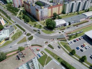 Práce na prodloužení tramvajové trati na Nové Sady začnou v březnu