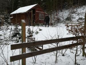 FOTO: Jak na zimu zabezpečit chatu? V chatové oblasti proběhla pravidelná policejní preventivní kontrola