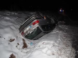 Policie v Olomouckém kraji za poslední víkend vyšetřovala třináct dopravních nehod
