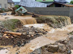 Obce postižené loňskou bleskovou povodní si z krajské sbírky rozdělí dalších 300 tisíc