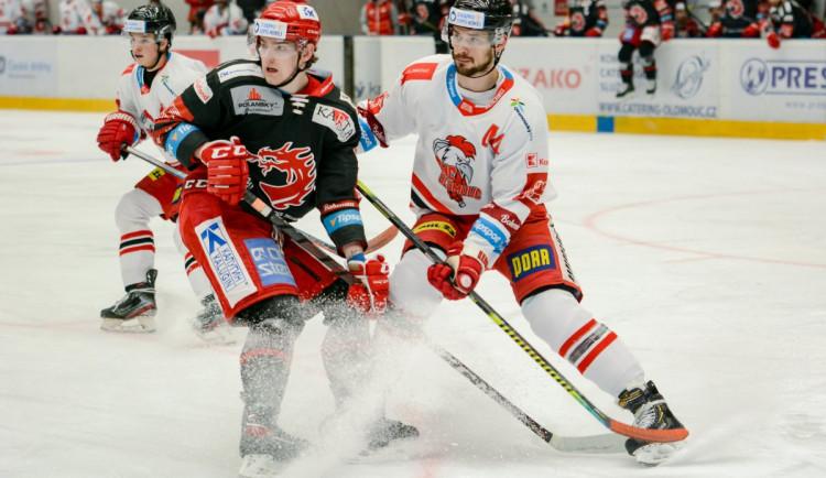 Hokejisté Třince otočili duel v Olomouci a vyhráli pošesté v řadě