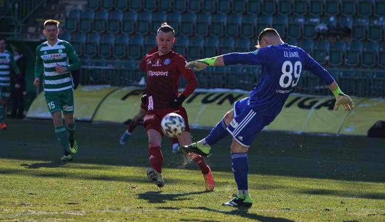 Olomouc hrála s Bohemians 0:0 a podeváté v sezoně remizovala