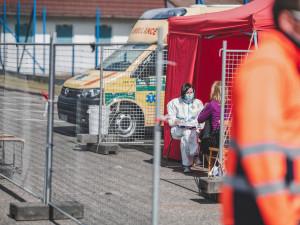 Mezitýdenní křivka nových nákaz v Olomouckém kraji stoupla