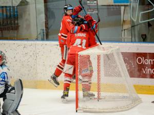Hokejisté Olomouce porazili potřetí Plzeň a jsou ve čtvrtfinále