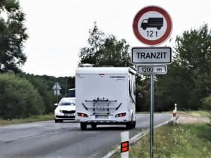 V jižní části Olomouce si obyvatelé oddechnou. Kamiony dostanou zákaz