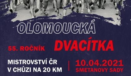 Olomoucká dvacítka bude 10. dubna slavit 55 let