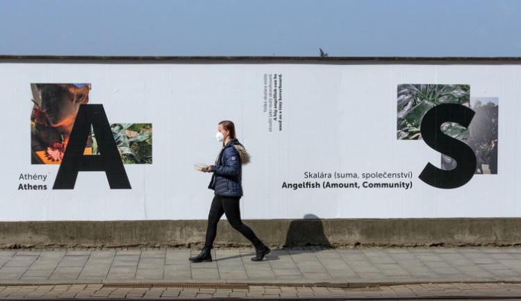 Ohrada Muzea umění v Olomouci se proměnila ve výstavní plochu