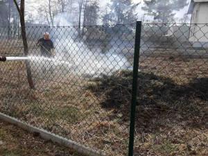 Hasiči doporučují pálení klestí na zahradě předem nahlásit