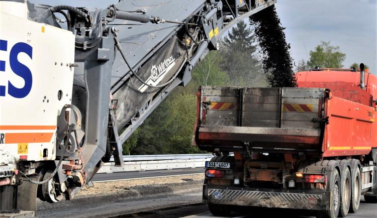 Ve středu začne další oprava dálnice D46. Tentokrát u Vranovic-Kelčic