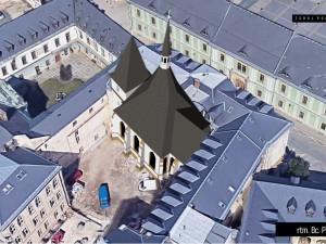 Experti sestavili podobu jednoho z nejstarších kostelů v Olomouci