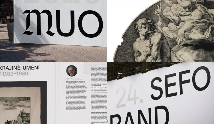 Muzeum umění Olomouc má nový vizuální styl, návrh vzešel ze soutěže