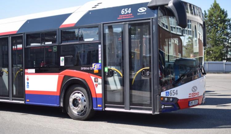 Olomoucký dopravní podnik koupí za 76 milionů deset nových autobusů