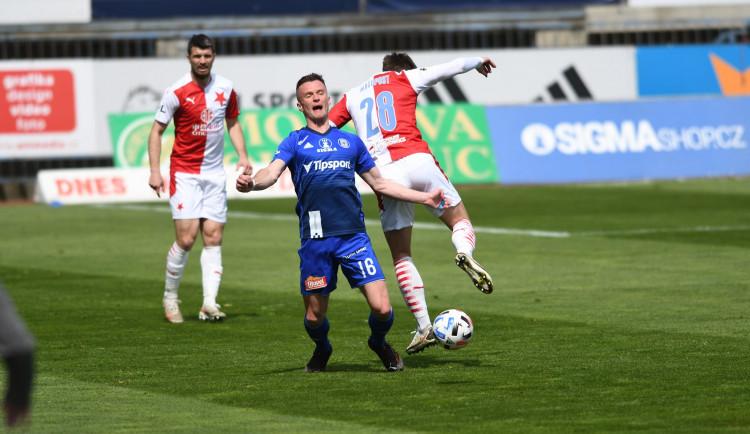Sigma Olomouc doma prohrála se Slavií 0:3 a v poháru končí