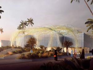 Olomoucký sochař dokončuje v Dubaji obří plastiku pro český pavilon světové výstavy EXPO