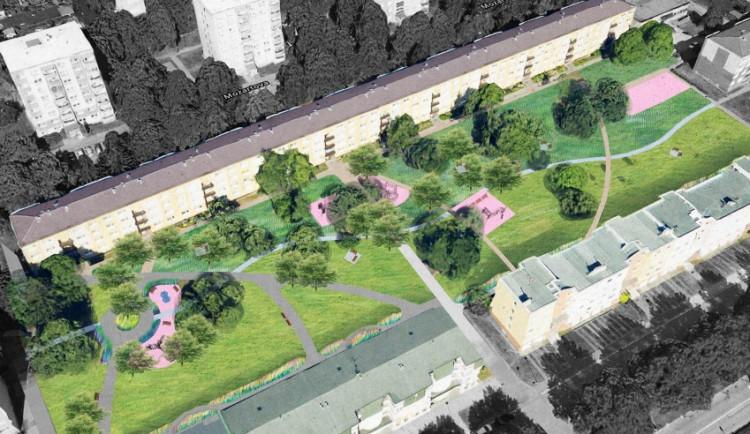 Mapová aplikace obsahuje podrobné údaje o investicích v Prostějově