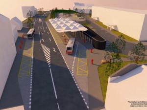 Prostějov chystá stavbu dopravního terminálu s parkovacím domem