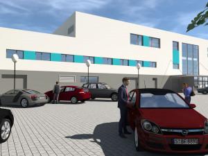 Šternberk zahájil stavbu krytého bazénu. Součástí bude i wellnes
