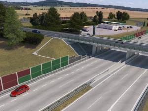 Část dálnice z Olomouce do Přerova má konečně platné stavební povolení