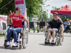 Ve Smetanových sadech v Olomouci se bude v červnu konat štafeta na vozíku
