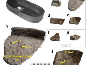 Hrnce staré 7000 let ukázaly, co jedli předci. Vědci našli vepřové a mouku