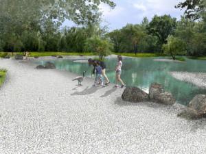 Radnice plánuje v Olomouci na Lazcích nový park. Dnes ho představí on-line