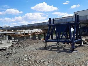 Prostějovská estakáda dostane nové nosníky. Silnice pod mostem bude neprůjezdná