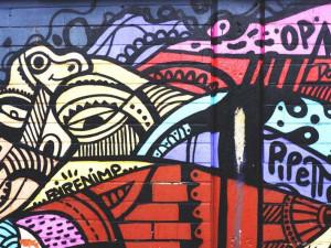 Streetartoví umělci vyzdobí v rámci akce Urban Art Jam okolí řeky Moravy