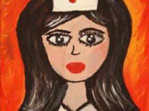 Sestřička z Fakultní nemocnice vystavuje obrazy na Velehradě. Jako poděkování zdravotníkům
