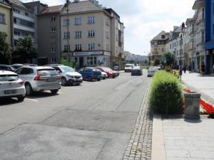 Přerov opraví i druhou část silnice na Žerotínově náměstí. Hledá se zhotovitel
