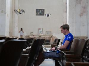 Kostel ve Staré Vodě na Libavé mapovaly inteligentní bezpilotní drony
