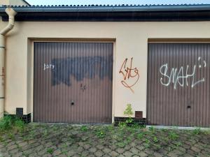 Mladík v Olomouci posprejoval čtyřicet objektů. Litoval pozdě, hrozí mu vězení