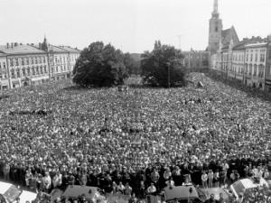 Bývalý prezident Václav Havel bude mít v Prostějově na památku svůj strom