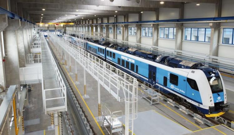 Rekonstrukce depa za miliardu. České dráhy vybudují v Olomouci moderní servisní zázemí