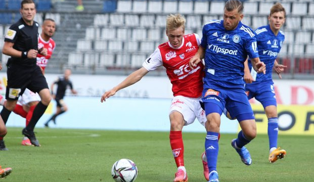 Fotbalisté Olomouce porazili Pardubice 3:2 a získali první body v sezoně