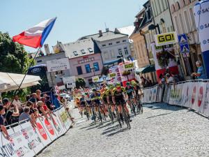 Cyklistická podívaná opět v Olomouckém kraji. Česká tour bude brázdit region