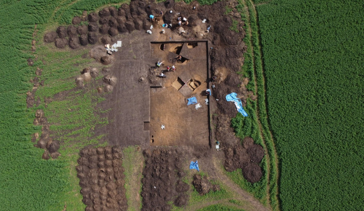 U Němčic nad Hanou archeologové zkoumají keltskou sklářskou dílnu. Nejstarší severně od Alp