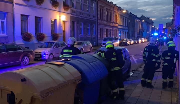 Z bombového útoku v Přerově policie obvinila osmatřicetiletého recidivistu. Skončil ve vazbě