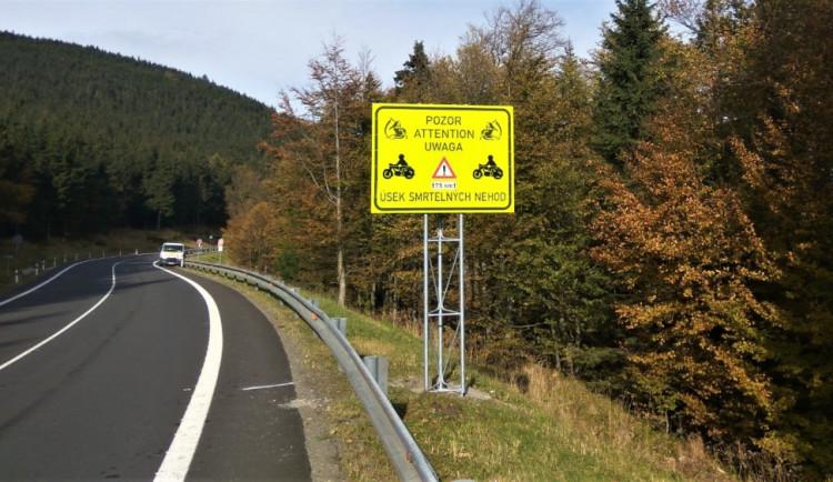 Rychlost řidičů na Červenohorském sedle by mohly měřit automatické radary