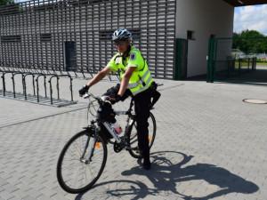 Prostějovská policistka na kole: Najedu třicet a víc kilometrů denně a ani to nepoznám