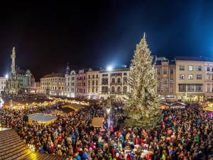 Vánoční trhy v Olomouci zdůrazní tradice. Velký strom dorazí z Hluboček
