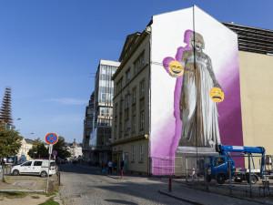 Olomouc začíná řešit velkoplošné kresby. Nepůjde o žádné schvalovací komise, ubezpečují politici