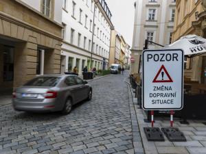 Nová trasa přes centrum Olomouce. Řidiče překvapila změna jednosměrek