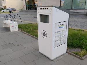 Smart koše v Olomouci už nebudou. Hlášení o zaplnění nefungovalo
